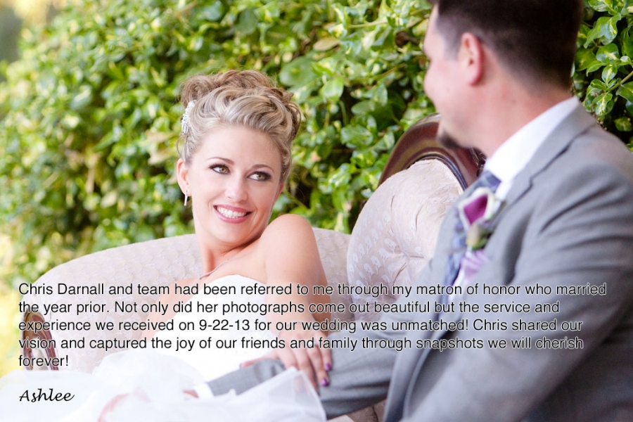 Amazing wedding couple review