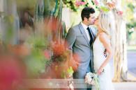 The hacienda wedding couple