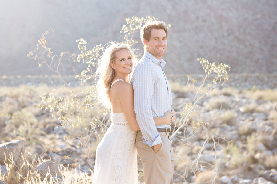 Amazing Palm springs engagement